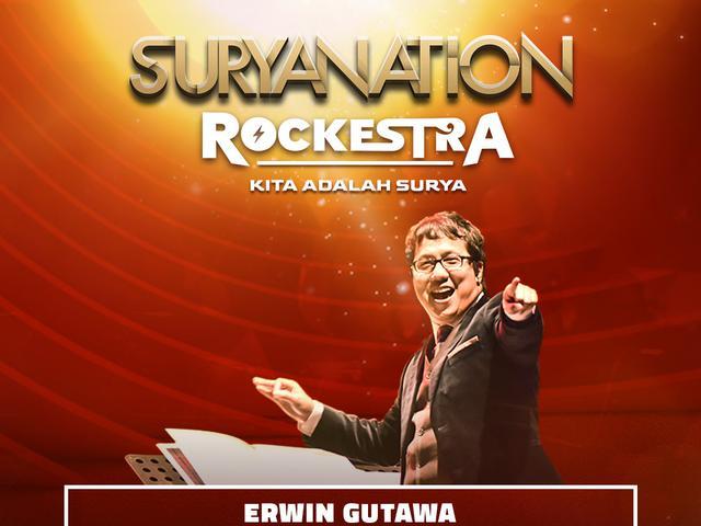 Suryanation Rockestra: Hadirkan Musik Rock Bernuansa Orkestra