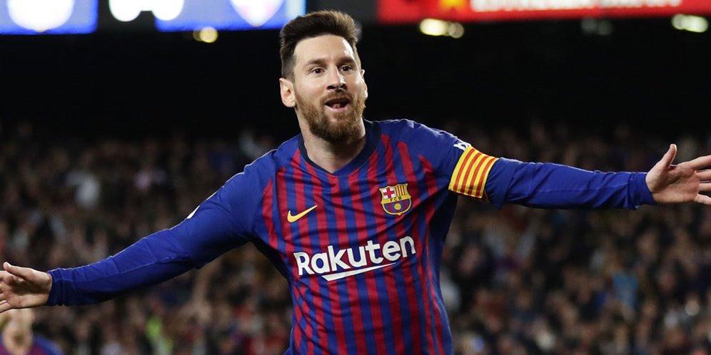 Lionel Messi dinobatkan sebagai playmaker terbaik 2019
