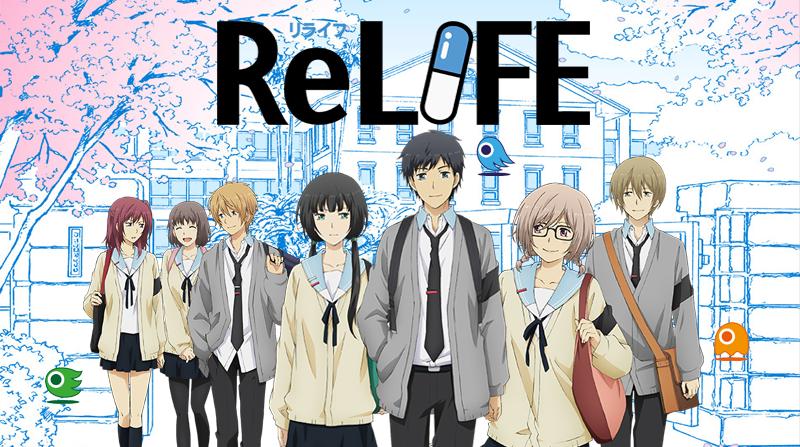 ReLife: Kerja dengan Mengulang Kehidupan SMA mu!