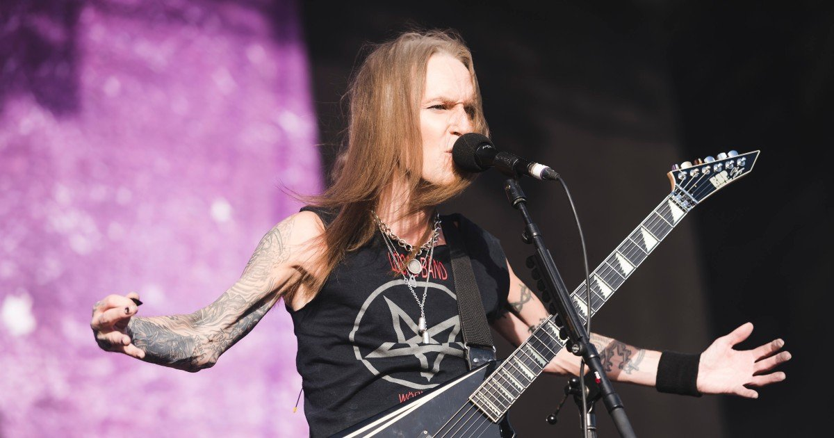 Lead Singer dan Gitaris Children of Bodom, Alexi Laiho, Meninggal Dunia