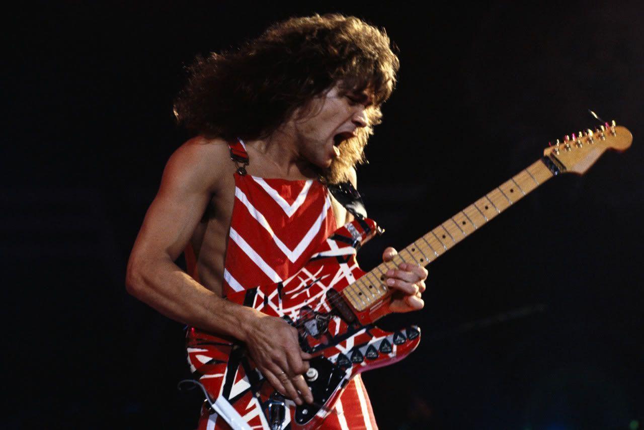 Lelang Gitar Eddie Van Helen Capai Harga Miliyaran Rupiah